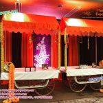Rehdi Food Stall Wedding Decoration