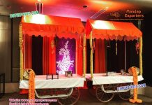 Rehdi Food Stall Wedding Decoration