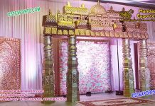 Southern Wedding backdrop Stage Decoration For Reception