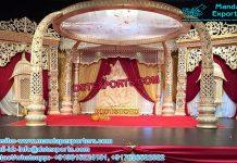 Srilankan Trunk Pillars Marriage Mandap Set