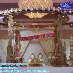 Hindu Wedding Wooden Carved Mandap