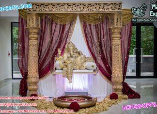 Royal Entrance Decoration with Ganesha