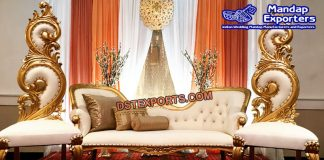 Western Marriage Stage Sofa Set