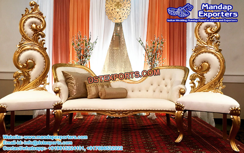 Western Marriage Stage Sofa Set Mandap Exporters