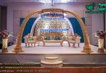 Elegant Elephant trunk Pillars Stage