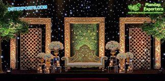 Arabian Wedding Reception Stage
