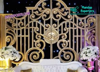 Asian Wedding Backstage Gate Panel Decoration