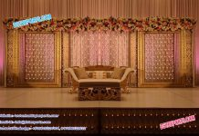 Astonished Wedding Candle back wall