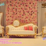 Elegant Maharajah Wedding Throne Sofa set