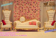 Elegant Maharajah Wedding Throne Sofa set