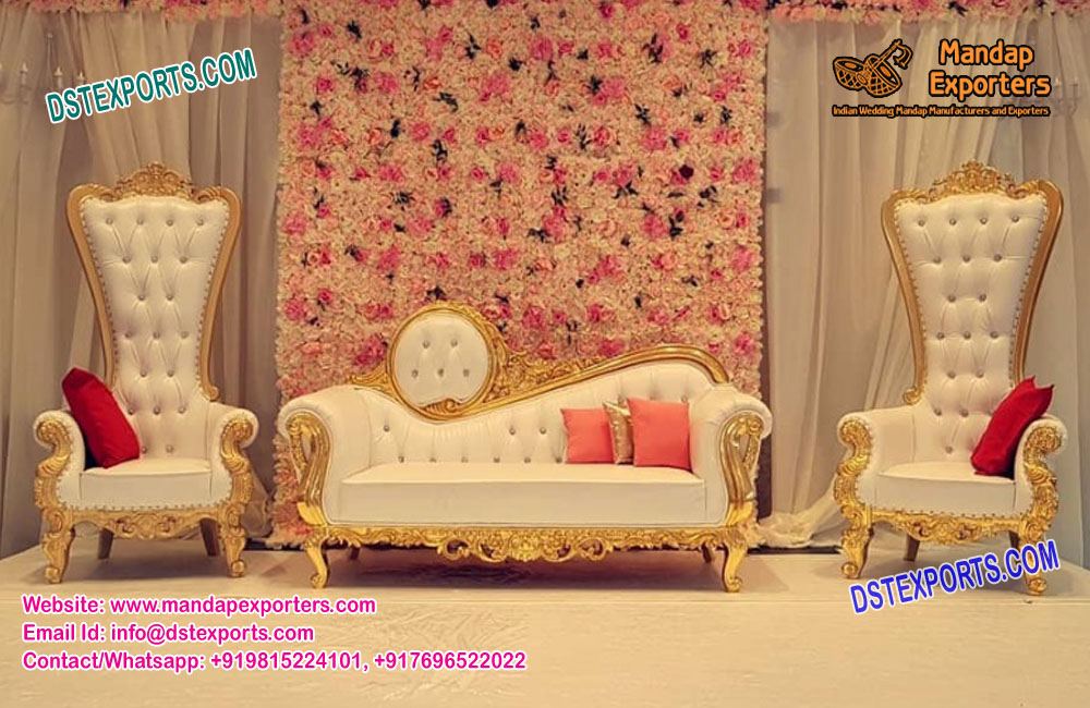 Peachy Indian Wedding Sofa Furniture Bralicious Painted Fabric Chair Ideas Braliciousco