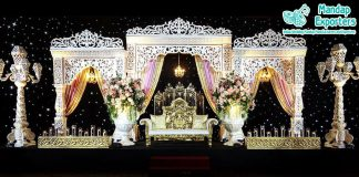 Glamourous Indian Wedding Bollywood Stage