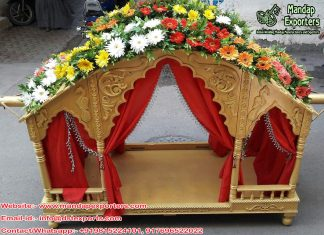 Beautiful Wedding Doli for Bridal Entry