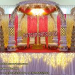 Grand Wedding Elephant Teeth Mandap