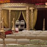 Indian Royal Wedding Golden Mandap
