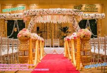 Indian Wedding Bottal Pillar Mandap Set