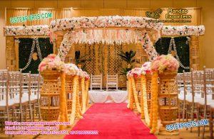 Indian Wedding Bottal Pillar Mandap Set