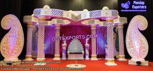 Indian Wedding Ceremony Butterfly Mandap