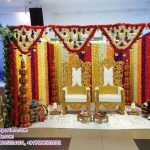 Indian Wedding Floral Decoration Mandap