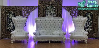 Latest Wedding Event Stage Furniture