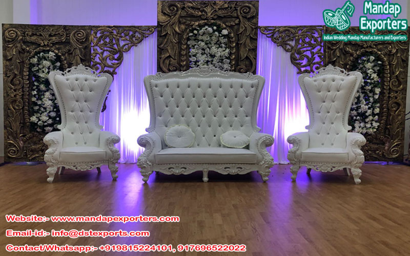 Latest Wedding Event Stage Furniture – Mandap Exporters