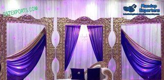 Marvelous Wedding Backdrop Fiber Frames