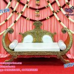 Mehandi Reception Boat Sofa Furniture