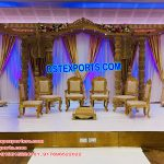 Royal Wedding Ancient Wooden Mandap