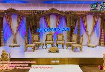 Royal Wedding Ancient Wooden Mandap