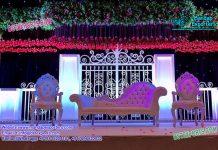 Trending English Wedding Backstage Decoration