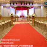 Wedding Walkway Fiber Pillars/Flower Pot