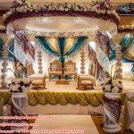 Indian Wedding Filmy Style Crystal Mandap