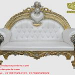Best Wedding Stage Maharaja Sofa