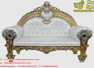 Best Wedding Stage Maharaja Sofa