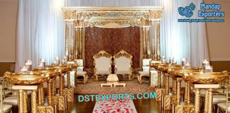 Top Wedding Triple Pillar Mandap