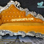 Asian Wedding Throne Chaise Sofa
