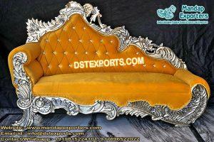 Asian Wedding Throne Chaise Sofa