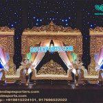 Attractive Look Rajwada Stage Setup