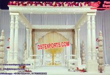 Fascinating Hindu Marriage Twin Pillar Mandap