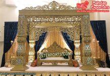 Glamourous Asian Wedding Bollywood Stage/Mandap
