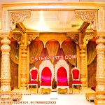 Grand Haveli Look Wedding Mandap