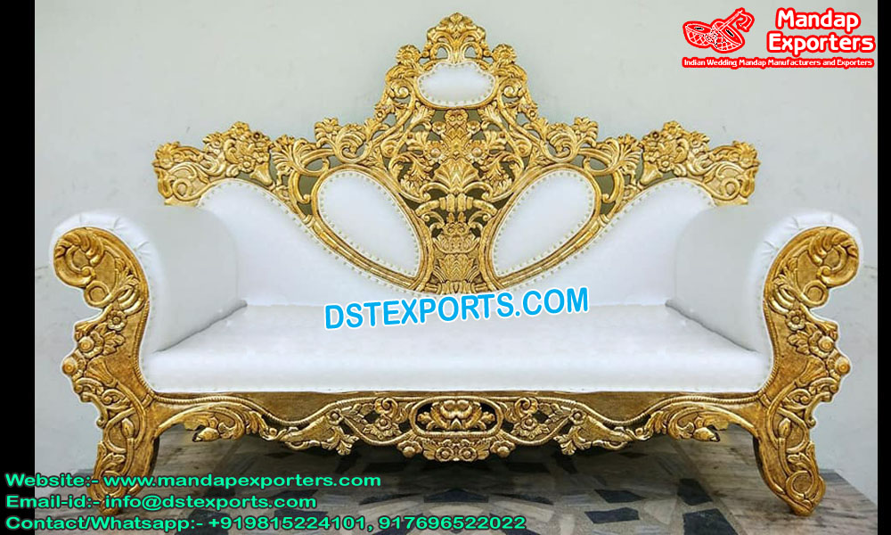 High-Class Wedding Stage Sofa