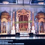 Indian Wedding Ancient Look Stage Set