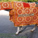 Indian Wedding Heavy Embroidered Horse Costume