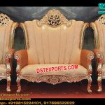 King Style Wedding Sofa Set