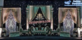 Majestic Wedding Reception Stage