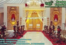 Marvelous Bollywood Style Wedding Stage