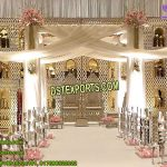Modernistic Wedding Back-Frames Decoration