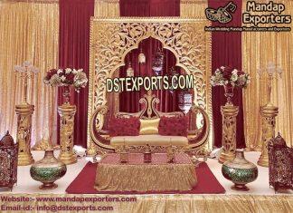 Muslim Mehraab Frame Stage Decoration