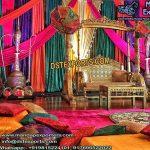 Muslim Style Wedding Mehandi Stage